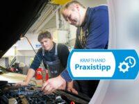 Hinweis zu Kompressorölen von Hybridfahrzeugen