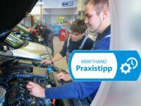 Reduzierte Motorleistung und Pfeifen aus dem Motorraum