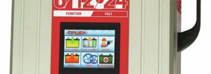 Neues Batterielade- und Testgerät