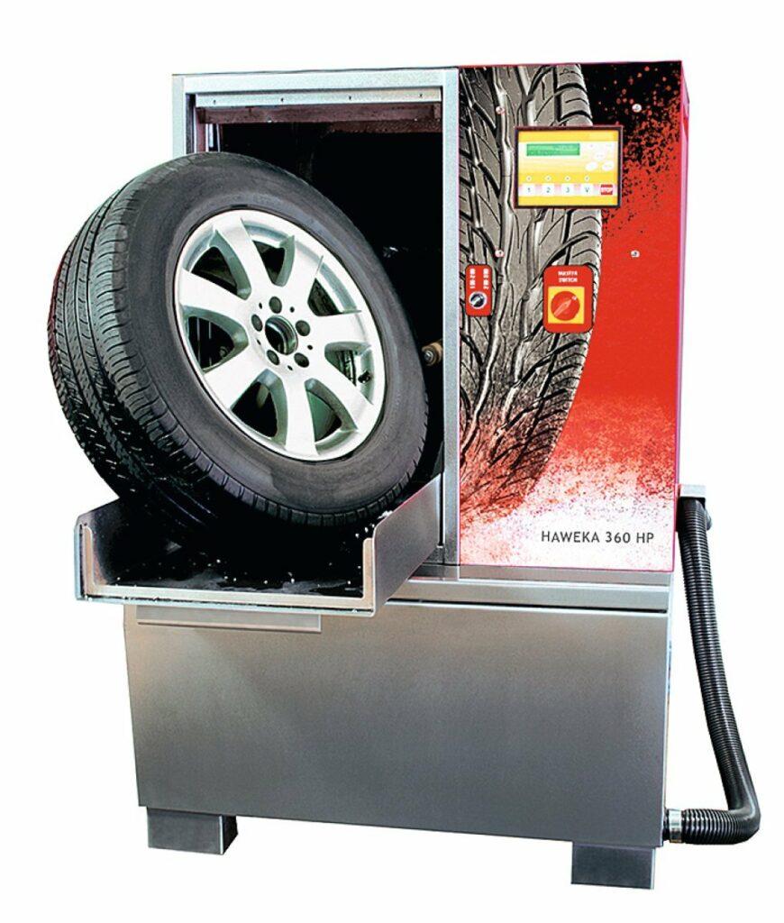 Reifenwaschmaschine 360 HP
