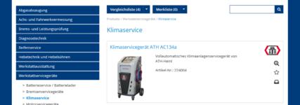 KRAFTHAND-Werkstattkatalog im responsive Design