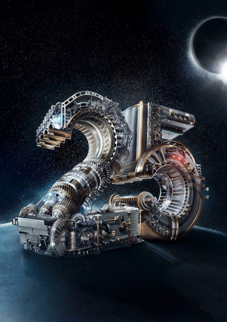 Logo für 25 Jahre Automechanika
