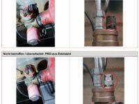 Schadhafte Multiventile BRC VBS1 für Erdgasfahrzeuge