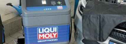 Zweite Generation der Gear-Tronic-Ölwechselstation