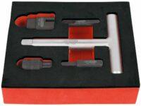 Passendes Werkzeug für Kunststoff- Ölablassschrauben