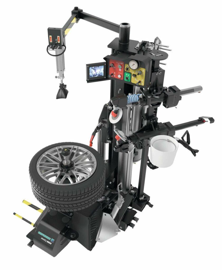 Die Montiermaschine monty 8800