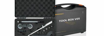 Werkzeugsatz für den Kettenwechsel
