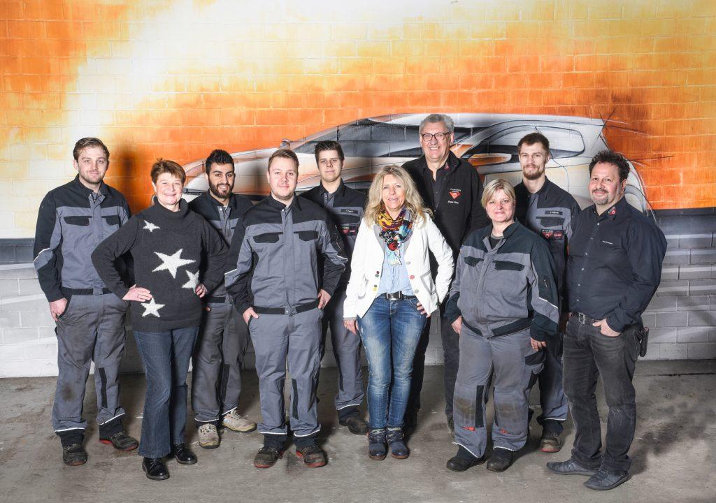 Gruppenfoto Achenbach