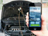 Neue App zum Durchspülen von Klimaanlagen