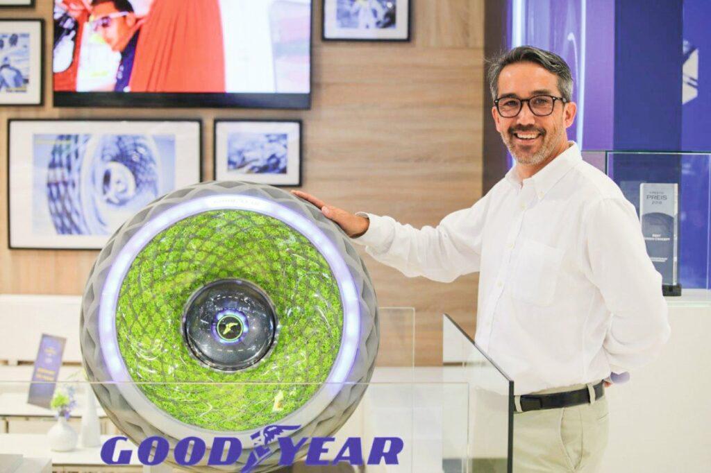 Goodyear-Reifen mit Moostechnologie