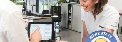 Online-Bewertungstool für Werkstattleistungen