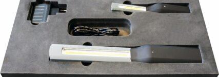 Handleuchten mit aktueller LED-und Akkutechnologie