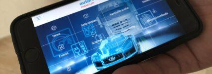 Navigations-App zur Automechanika