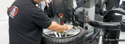 Für eine effizientere Reifenmontage
