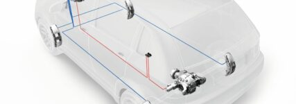 Vernetztes Hinterachsgetriebe für Offroad-Fahrzeuge von ZF