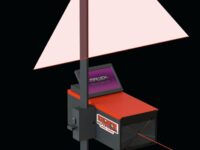 Scheinwerfer-Einstellgerät gleicht Unebenheiten aus