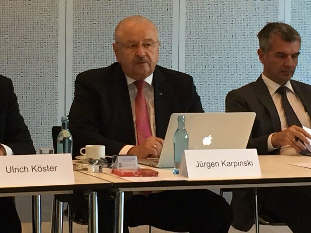 ZDK-Präsident Jürgen Karpinski