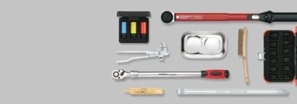 Tools für Räderwechsel