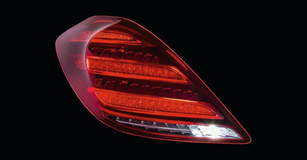 LED-Heckleuchte für Mercedes-Benz S-Klasse.