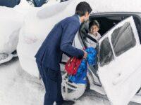 Warmes Auto auf Kommando