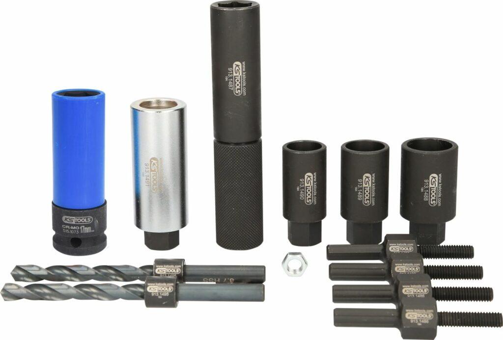 Felgenschloss-Ausbohrsatz von KS-Tools