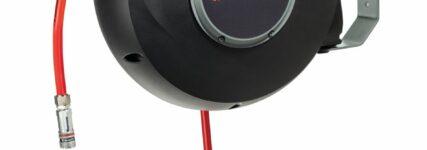 Druckluft-Schlauchaufroller für mehr Sicherheit
