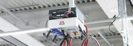 Energieversorgung am Werkstattarbeitsplatz