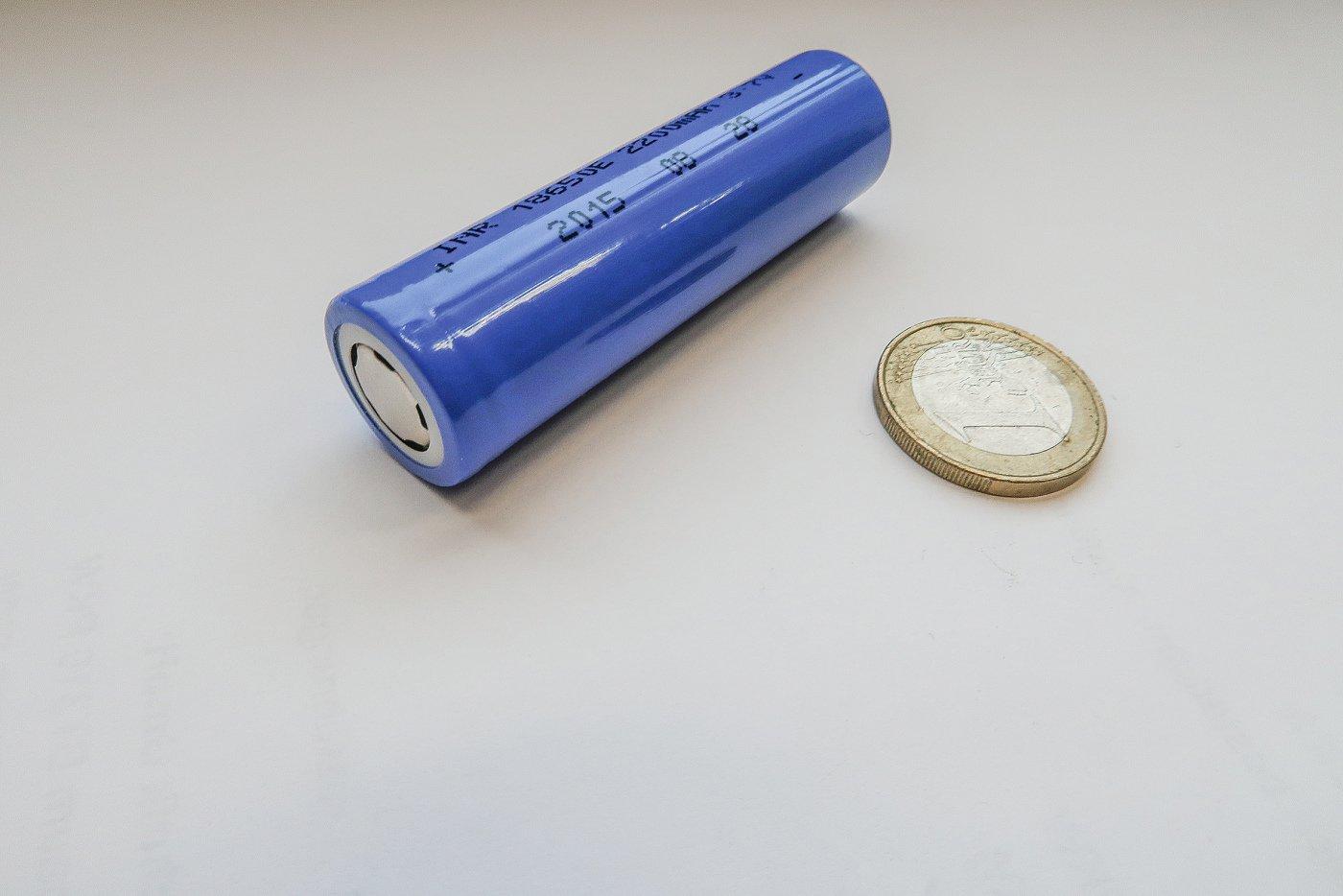Zylindrische 18650-Zelle