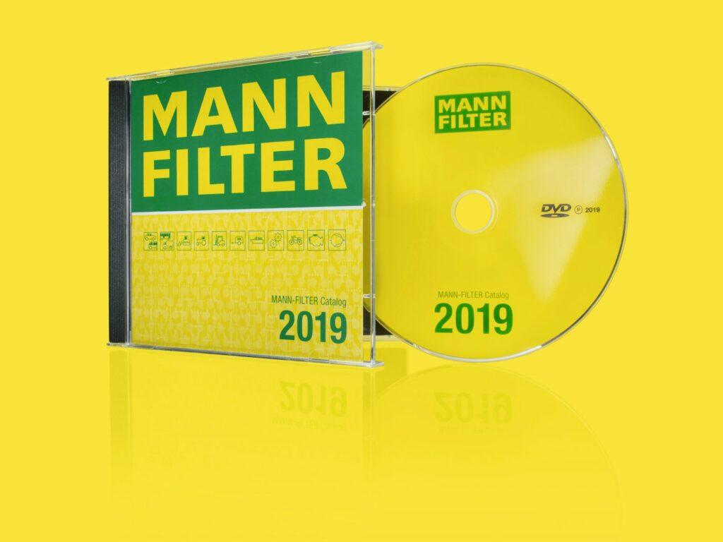 Katalog-DVD für Filter von Mann+Hummel