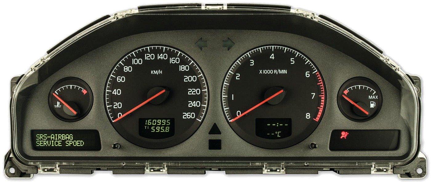 Volvo Tacho Komplettausfall Reparatur AirbagwarnmeldungV70 XC70 XC90 S80 S70 S60