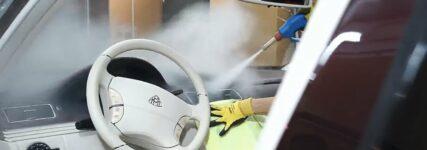 Autowäsche mit Dampf spart Wasser, Zeit und Kosten