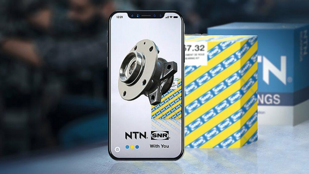 TechScaN'R, App von NTN-SNR