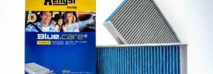 Fünflagiger Innenraumfilter für reine Luft