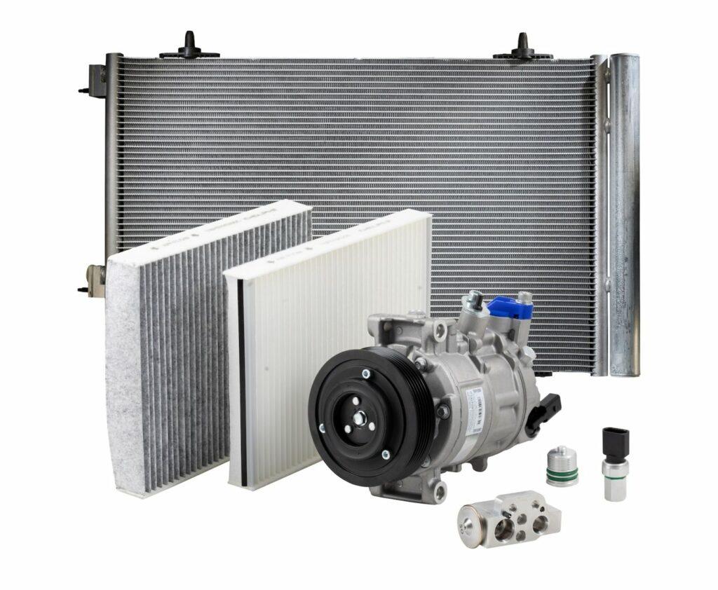 Klimaanlagen-Sortiment von Delphi