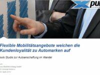 Moderne Mobilitätsangebote entwickeln sich zum Lifestylethema