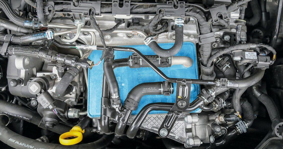 AGR-Kühler eines Eruo-6-2-l-Diesemotors