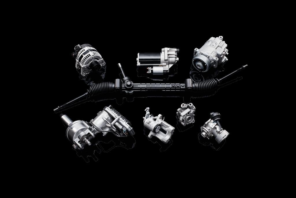 wiederaufgearbeitete Ersatzteile von Borg Automotive