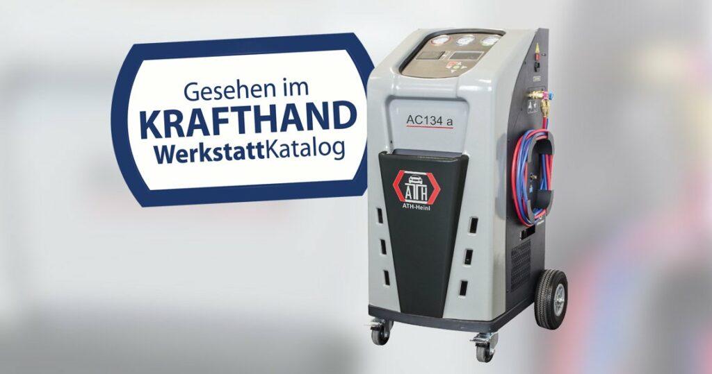 Klimastation für R134a von ATH-Heinl