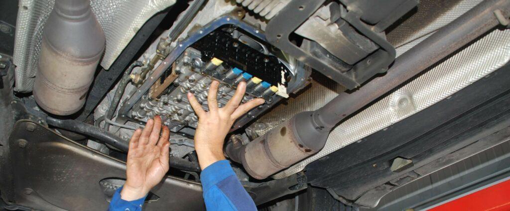 Service am Automatikgetriebe