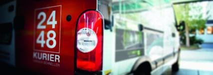 Werbung auf Fahrzeugen