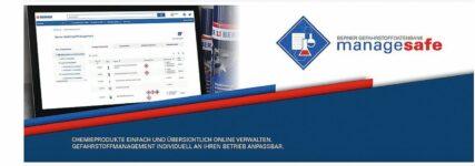 Digitale Plattform zur Verwaltung von Gefahrstoffen
