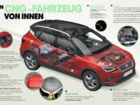 Die technischen Raffinessen der drei neuen CNG-Modelle