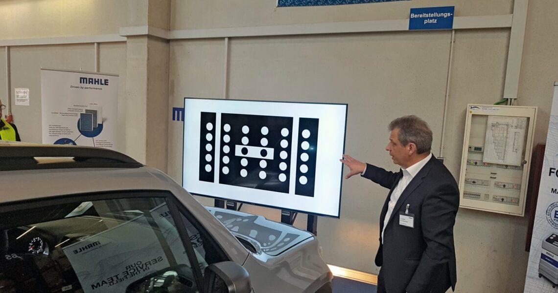 Kalibriertafel zur Kalibrierung von Fahrerassistenzsystemen