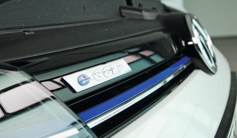Kühlergrill vom VW e-Golf