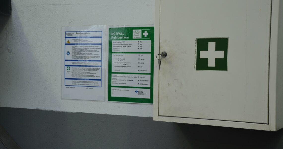 Erste Hilfe, UVV, Unfall