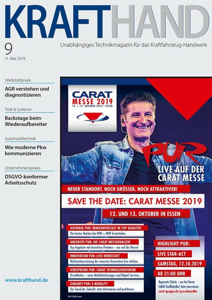 KRAFTHAND Ausgabe 9/2019 Cover