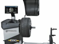 MT ZERO 6 von Beissbarth: Wuchtmaschine mit Laser und Sonar