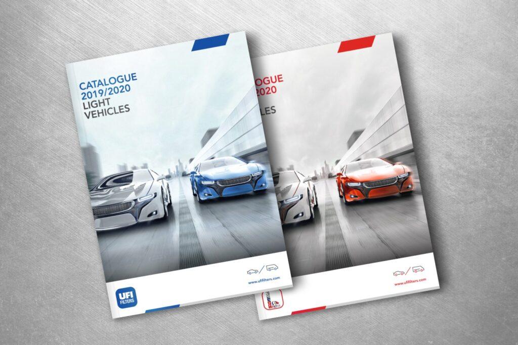 Katalog für die Marken von UFI und Sofima