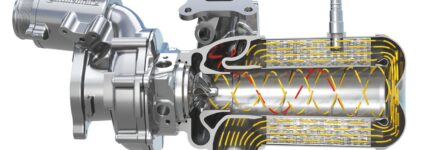 Ringkat-Turbolader verringert Strömungsverluste