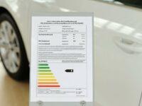 Pkw-Label mit neuen Kraftstoffpreisen selbst erstellen